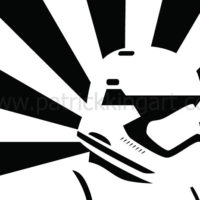 Star Wars Propaganda - First Order Stormtrooper Art Print