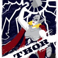 Marvel Comics - Guardians of Asgard - Thor Art Print