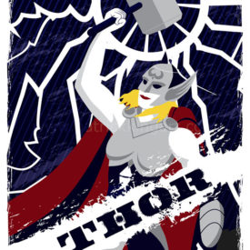 Marvel Comics - Guardians of Asgard - Thor Art Print