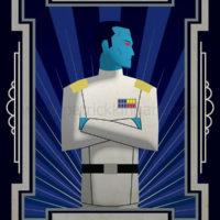 Star Wars Grand Admiral Thrawn Art History - Art Deco Art Print