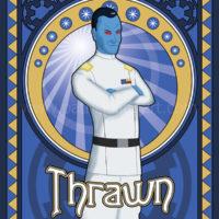 Star Wars Grand Admiral Thrawn Art History - Art Nouveau Art Print