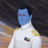 Star Wars Grand Admiral Thrawn Art History - Romanticism Art Print
