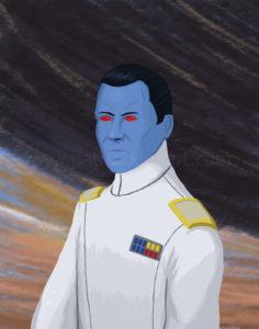 Star Wars Grand Admiral Thrawn Art History - Romanticism