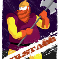 Guardians of Asgard - Volstagg Art Prints