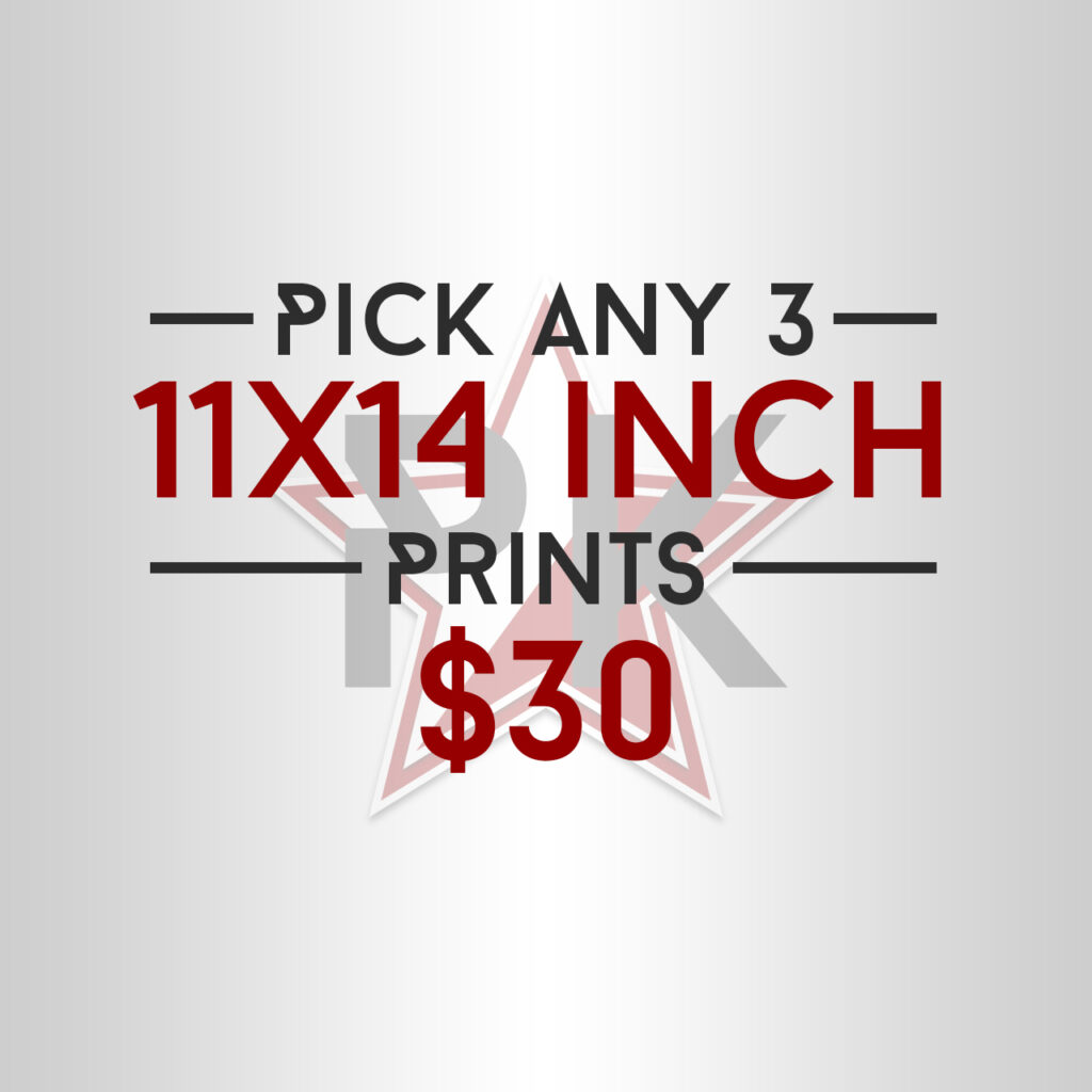 Pick Any 3 11x14 Posters