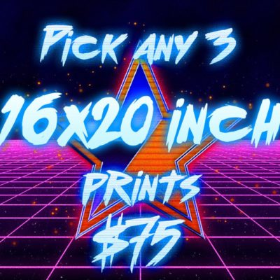 Pick 3 - Postcard Art Prints