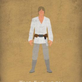 Star Wars: A New Hope Minimalist