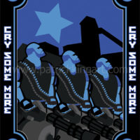 Team Fortress 2 - Blue Team Heavy - Art Print
