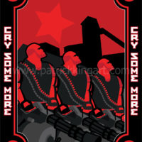 Team Fortress 2 - Red Team Heavy - Art Print