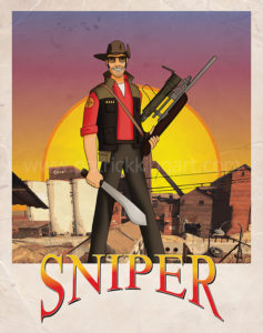 Team Fortress 2 - Sniper - Red