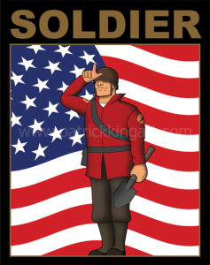 Team Fortress 2 - Soldier - Red