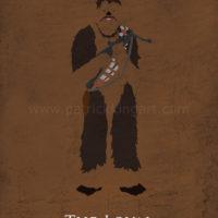 Star Wars Return of the Jedi - Chewbacca Art Print