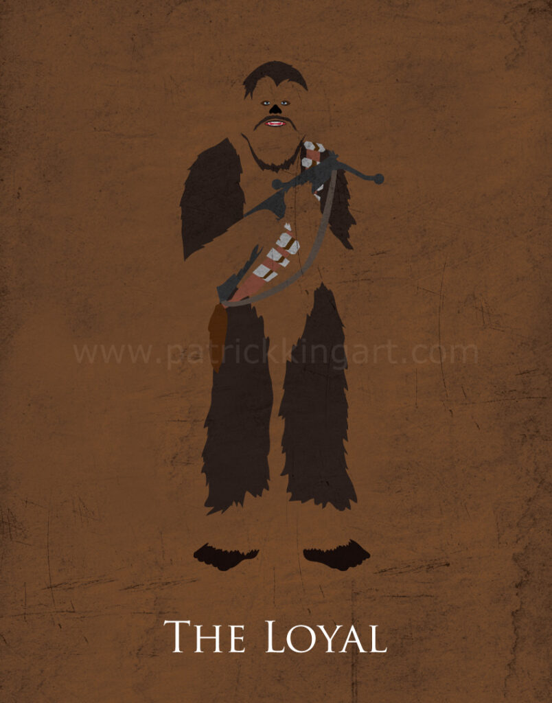 Return of the Jedi - Chewbacca Art Print