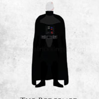 Star Wars Return of the Jedi - Darth Vader Art Print