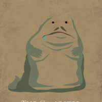 Star Wars Return of the Jedi - Jabba the Hutt Art Print