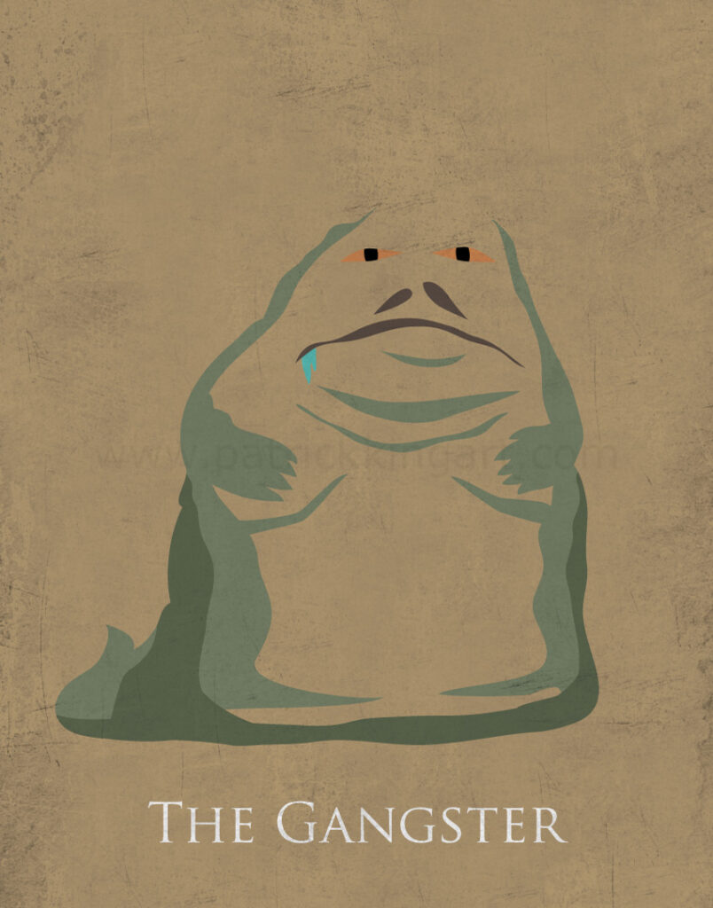 Return of the Jedi - Jabba the Hutt Art Print