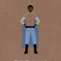 Star Wars Return of the Jedi - Lando Calrissian Art Print