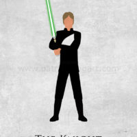 Star Wars Return of the Jedi - Luke Skywalker Art Print