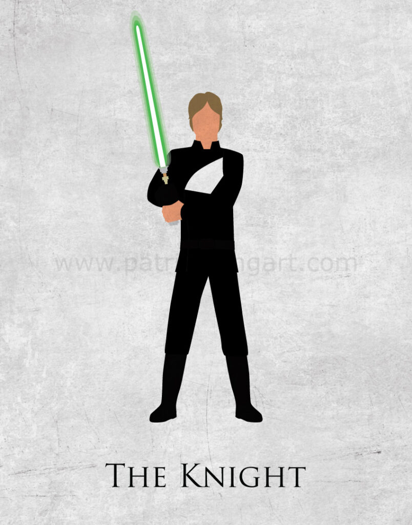Return of the Jedi - Luke Skywalker Art Print