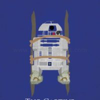 Star Wars Return of the Jedi - R2-D2 Art Print