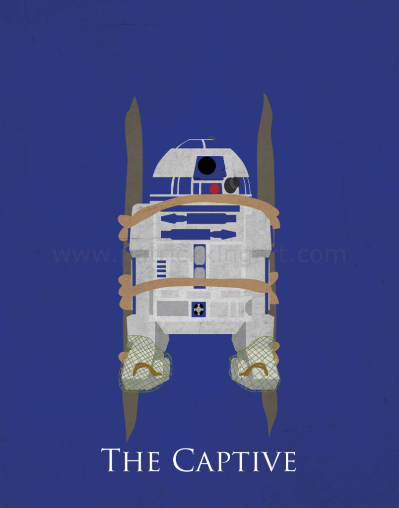 Return of the Jedi - R2-D2 Art Print
