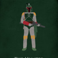 Star Wars The Empire Strikes Back - Boba Fett Art Print