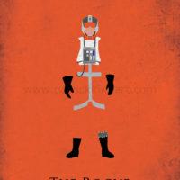 Star Wars Return of the Jedi - Wedge Antilles Art Print