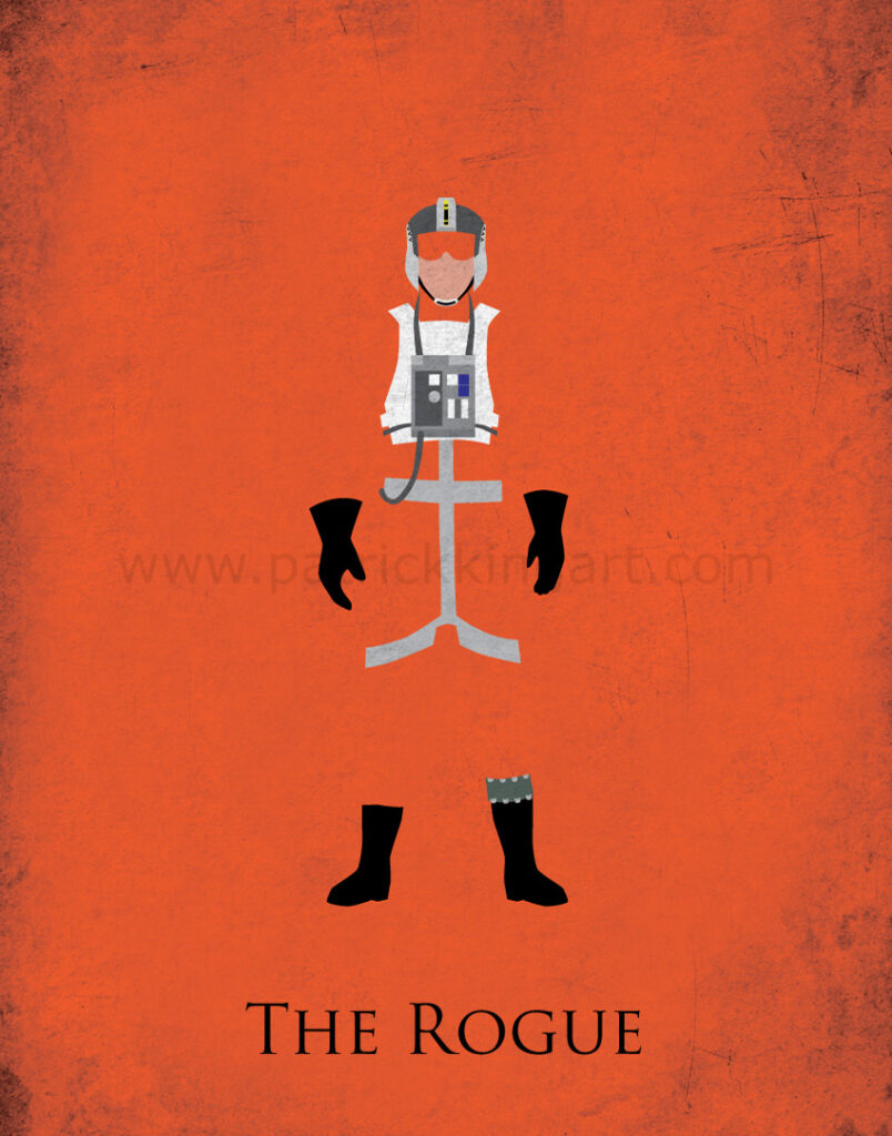 Return of the Jedi - Wedge Antilles Art Print