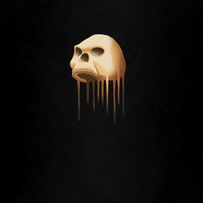 Untitled (Skull) Art Print