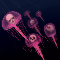Untitled (Jellyfish) Art Print