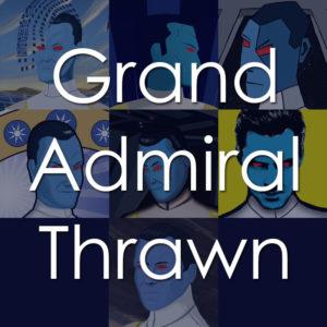 Grand Admiral Thrawn Art History