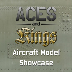 Aces and Kings Aircraft Model Showcase
