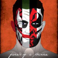Prince Devitt/Finn Balor Pro Wrestling Art Print