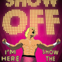 Dolph Ziggler Pro Wrestling Art Print