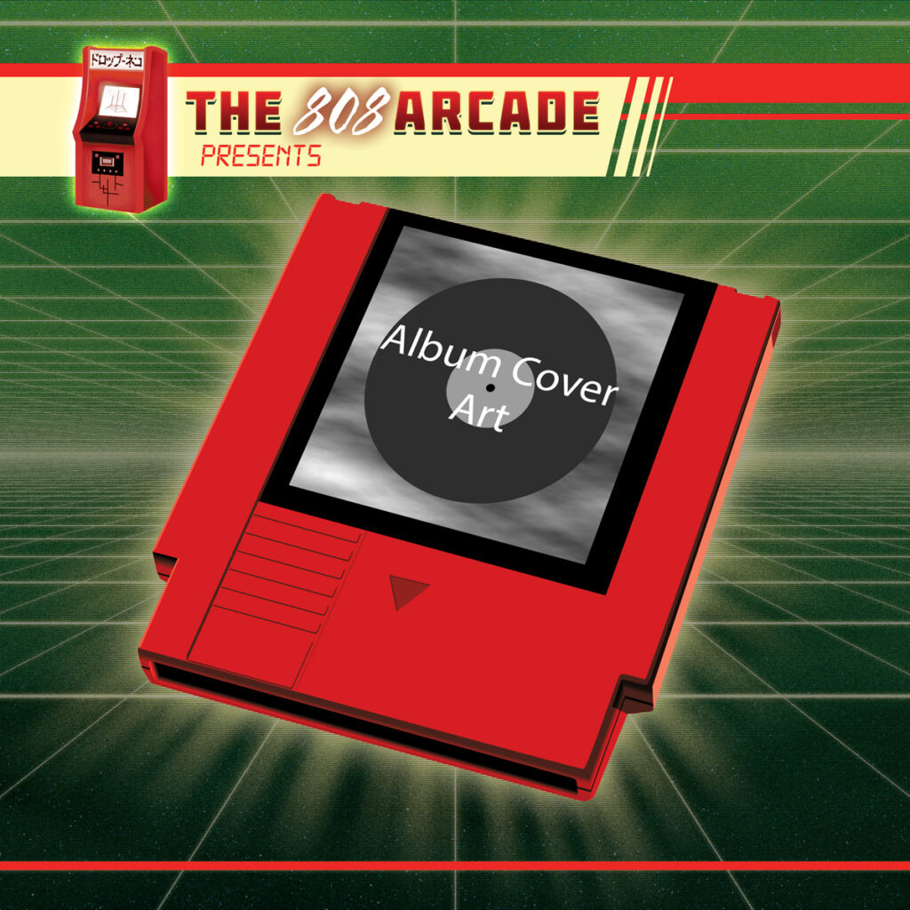 The 808 Arcade Album Template