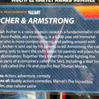Austin Books & Comics - Valiant Comics Shelf Tag