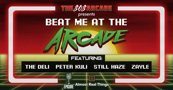 The 808 Arcade SXSW Facebook Event Graphic