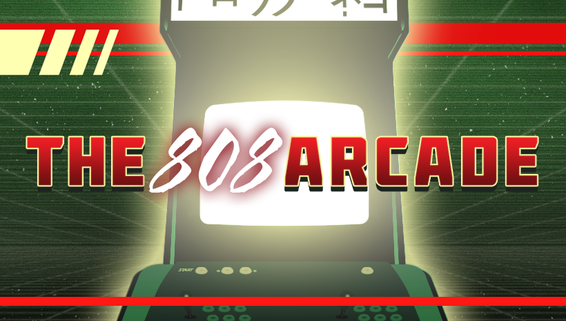 The 808 Arcade Facebook Cover Picture
