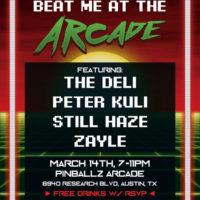 The 808 Arcade SXSW Flyer