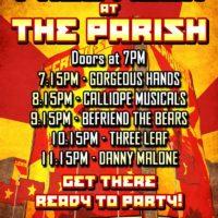 Austin Free Week Live Music Poster