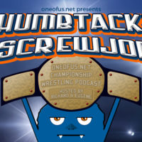Thumbtacks and Screwjobs Podcast Logo