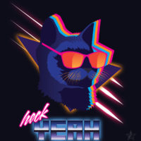 Heck Yeah Retro Cat