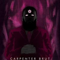 Synthwave Artist Portrait - Carpenter Brut