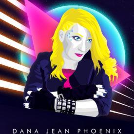 Synthwave Artist Portrait - Dana Jean Phoenix