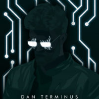 Synthwave Artist Portrait - Dan Terminus