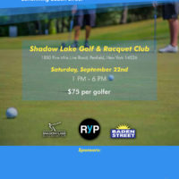 RYP - Golf Tournament Flyer