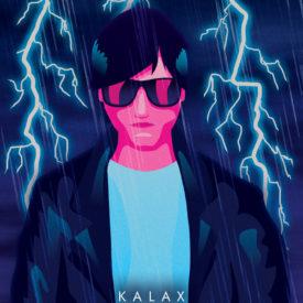 Synthwave Artist Portrait - Kalax