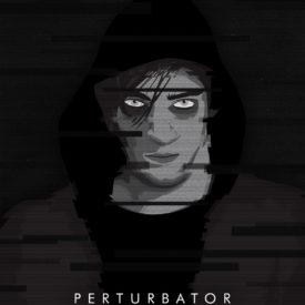 Synthwave Artist Portrait - Perturbator