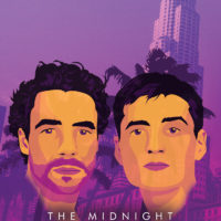 Synthwave Artist Portrait - The Midnight