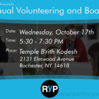 RYP - Volunteer Board Expo Facebook Graphic